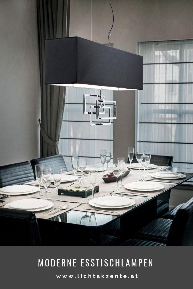 Ideal Lux Eckige Hangelampe Luxury Schwarz Lampen Wohnzimmer Leuchte Esstisch Esstisch Beleuchtung