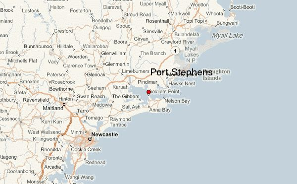Port Stephens Map NSW