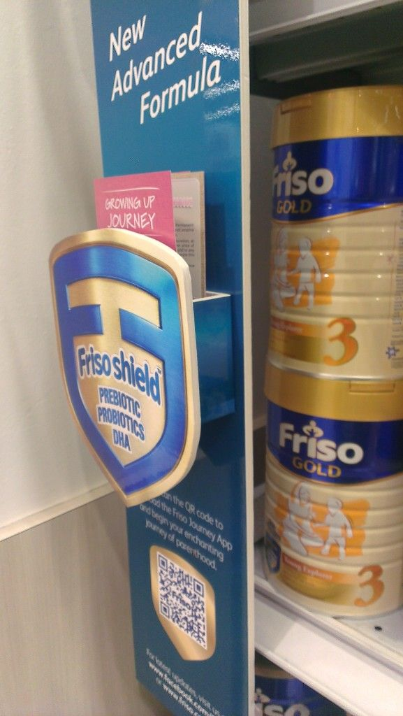 Friso New Advanced Formula Shelf Banner | Shelf Banner
