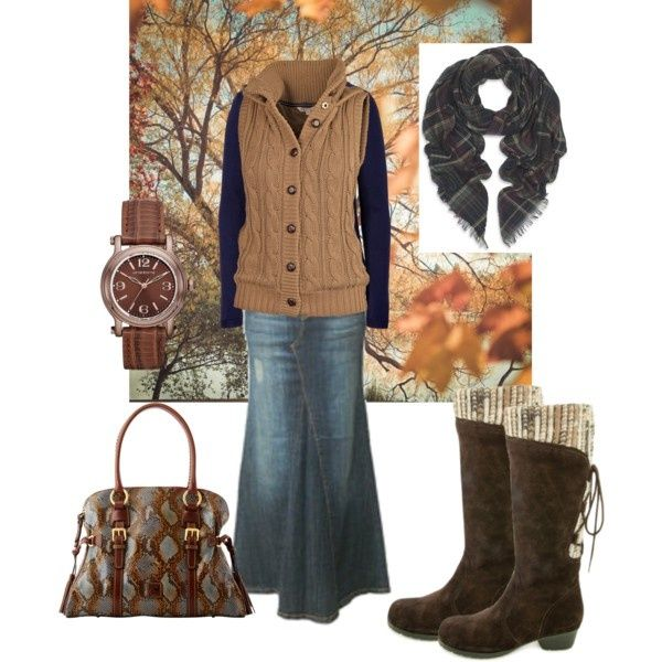 """Cute Modest Clothing for Women   Bring on the Fall!"""" by charitree on Polyvore   Cute Modest Clothing"""