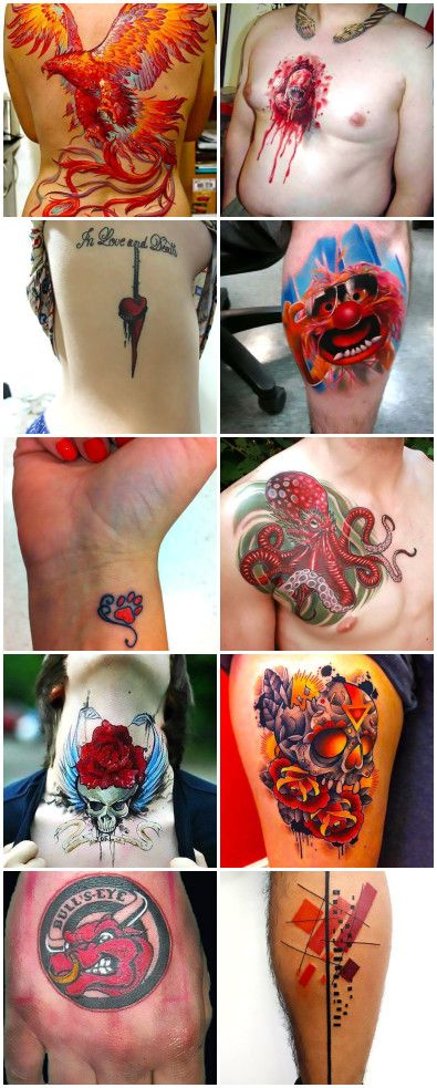 95 Fabulous Red Tattoo Ideas Best Tattoos Ever Red Tattoos Tattoos Best Tattoo Ever