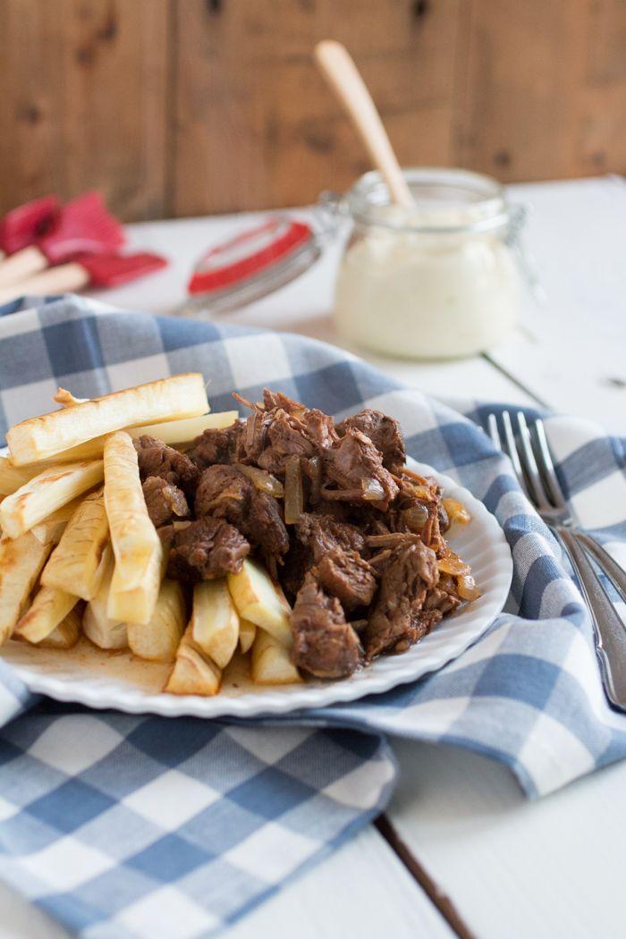 OERhollands - friet met stoofvlees