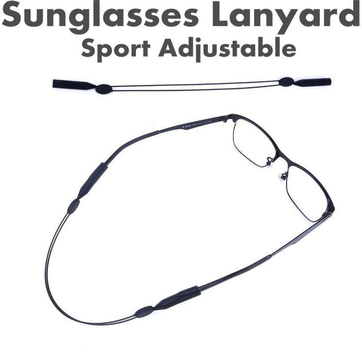 Maximumcatch 2pcs Sunglasses Lanyard Elastic Sport Adjustable String for Spectacles