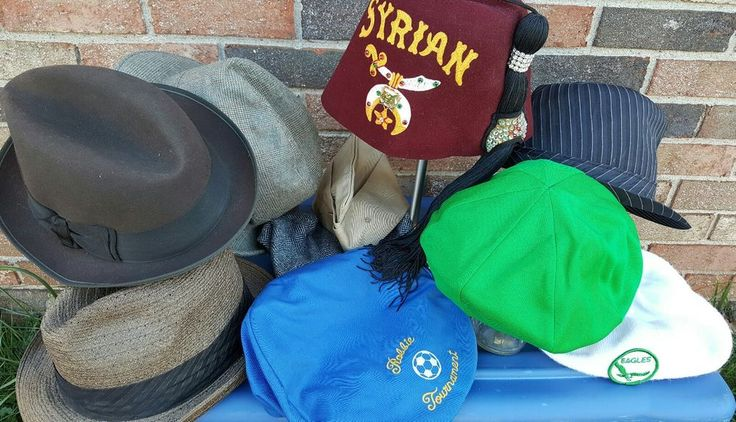 Vintage Mens Hats Lot Theater Plays Restoration Photo Studio Props Movie Derby | Clothing, Shoes & Accessories, Vintage, Vintage Accessories | eBay!