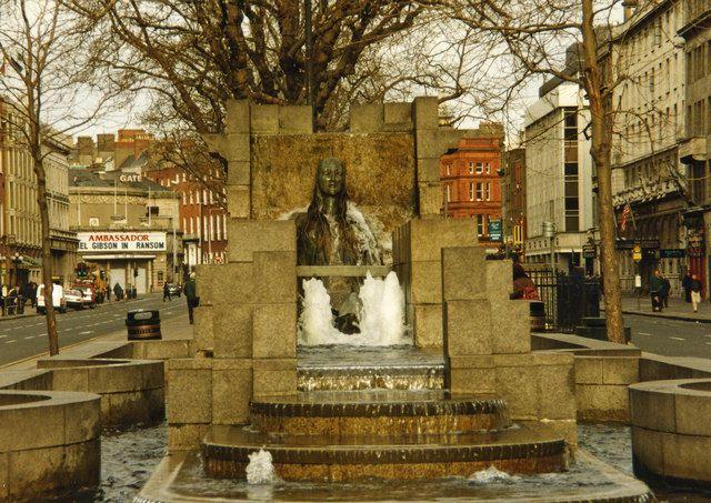 Anna Livia monument ,Dublin