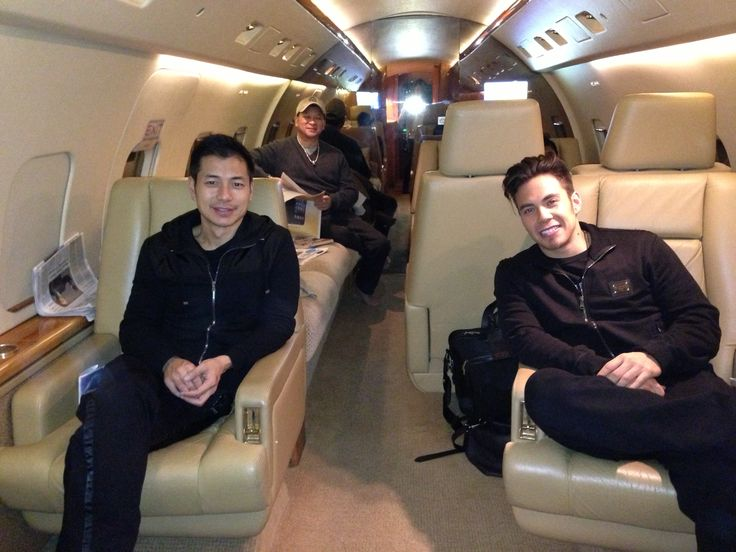 - Business trip ahead of us.    Rod, Apolo, Johnny on private plane headed to Boston to speak at Harvard - leaving from Vegas