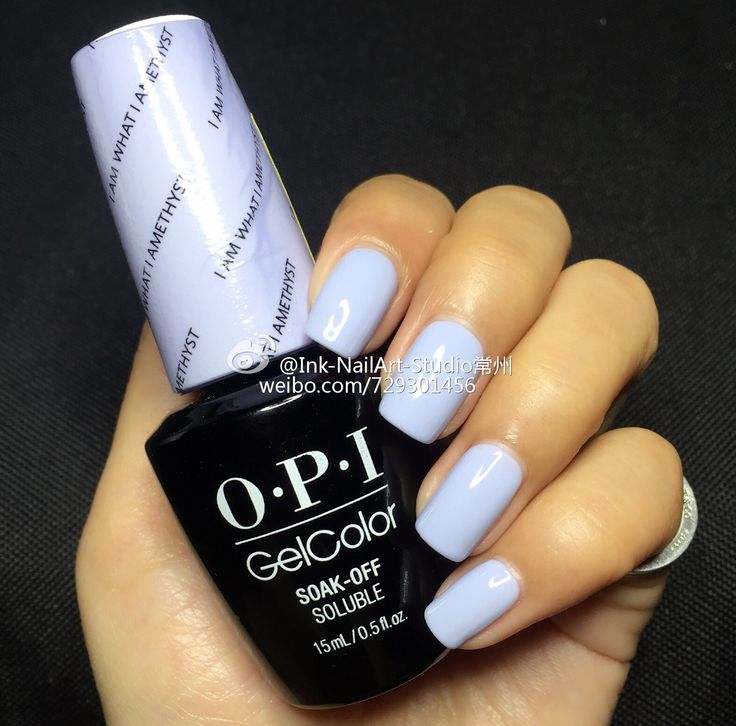 """What Nail Color Is In: Opi 2016 Soft Shades-pastels Gelcolor"""""""