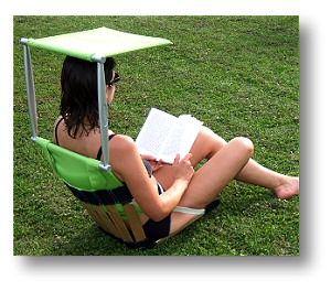 151 best images about terraza y jardin on pinterest - Chaise de plage lafuma pliante ...