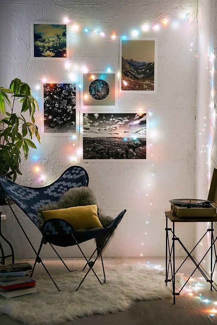 String Lights Urban Outfitters : Battery Powered Crystal String Lights - Urban Outfitters things to do Pinterest Urban ...