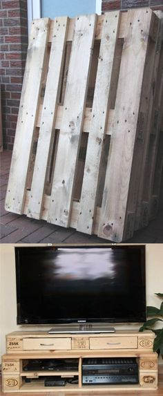 Meuble TV en récup (tutoriel gratuit - DIY) - tutolibre