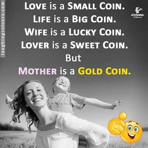 The only gold coin