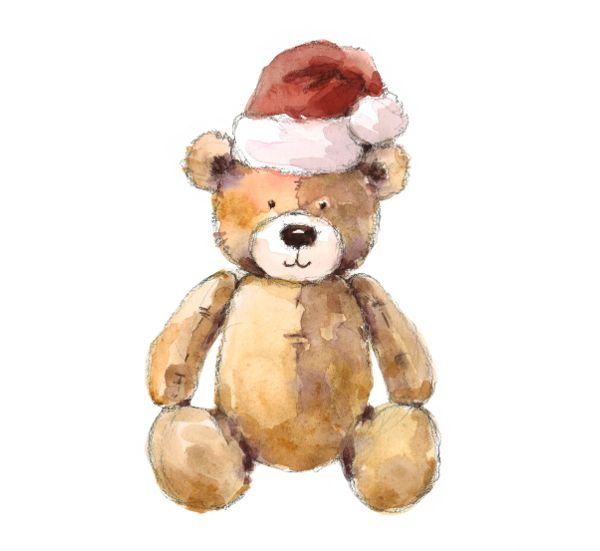 Create teddy bear painting