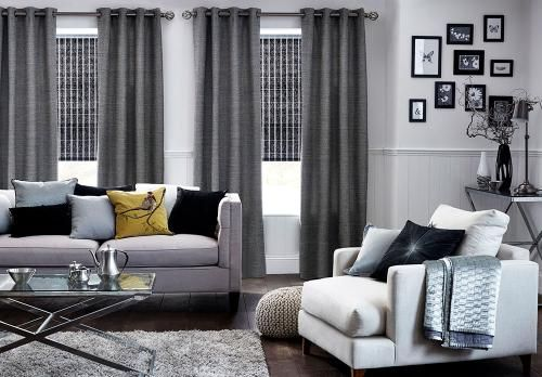 Premier Grommet Drapery Panel offers a beautiful selection of fabrics in solid colors, prints, jacquards, textures and stripes that reflect to the finest fabrics available in the market today.