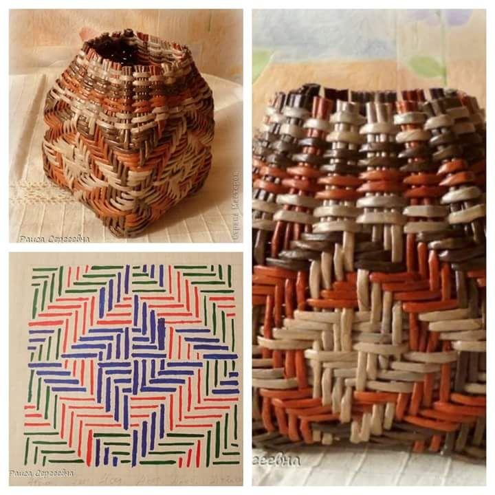Basket Weaving Essay : Best artesanato ? arte images on twine