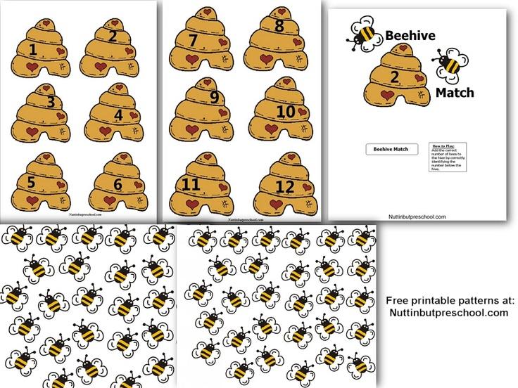 bijen telspel