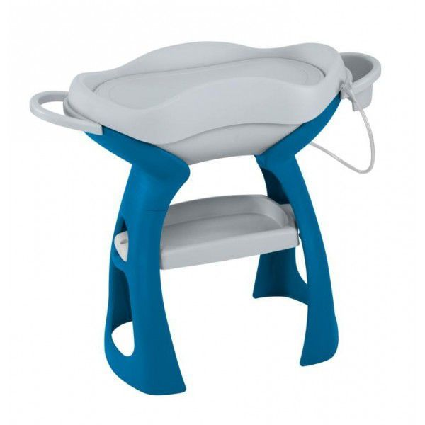 Bañera cambiador King Baby Tulip azul [3000] | 109,95€ : La tienda online para tu peke | tienda bebe pekebuba.com