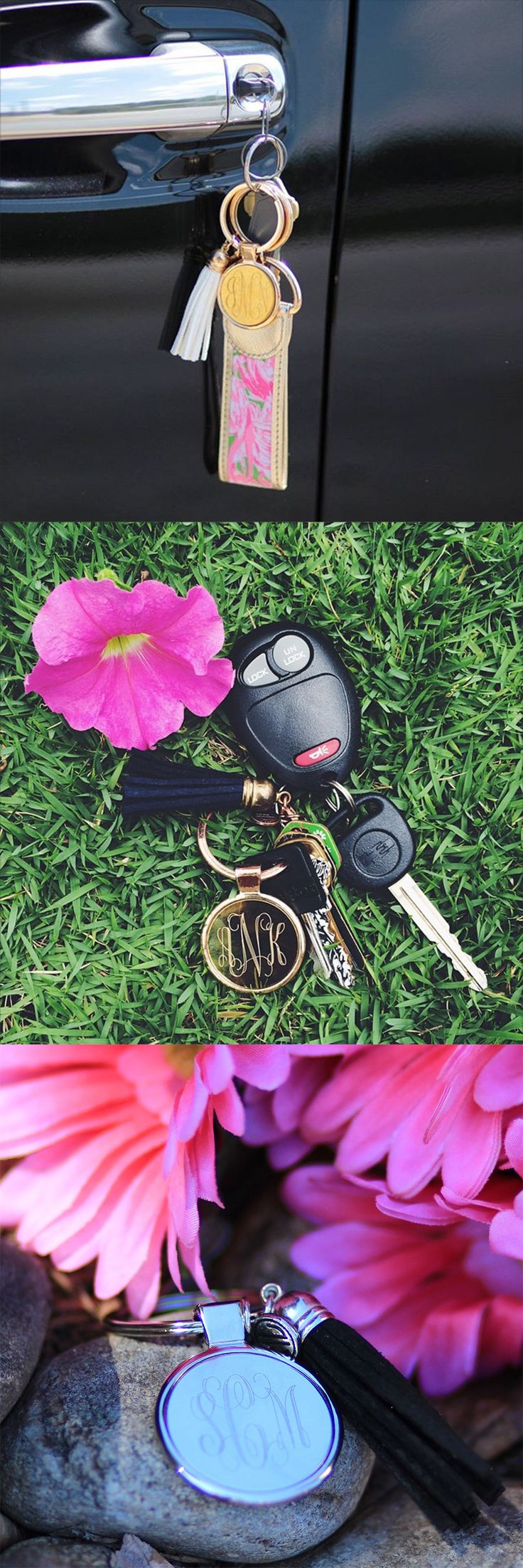 Tassel Key Chains // Marleylilly.com