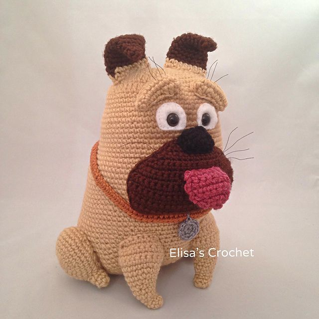 Ravelry: MEL bulldog amigurumi pattern by Elisa's Crochet