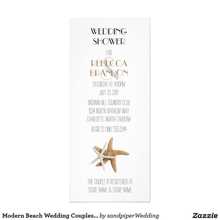777 best Beach Wedding Invitations images on Pinterest | Beach ...