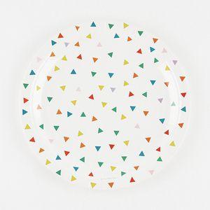 Multicolour triangles pahvilautaset