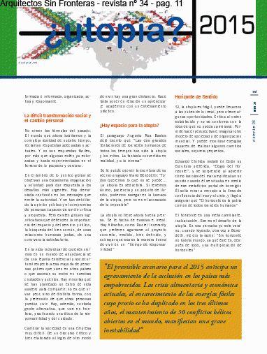 Editorial // ASF ; illustration by Silvia Miralles Badia @smiba_ http://www.domestika.org/es/projects/210127-editorial-asf-arquitectos-sin-fronteras