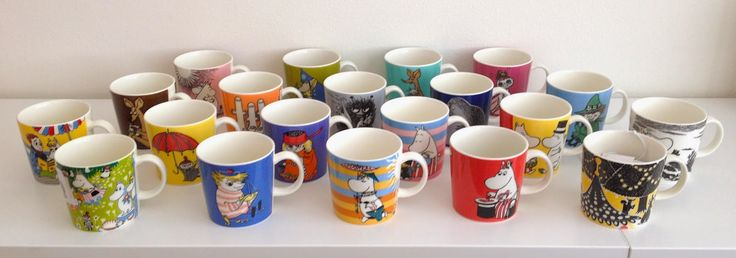 Arabia Moomin Mug Collection