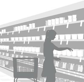 Experts in shop fitting & shop shelving | shelving4shops: Supermarket Shelving