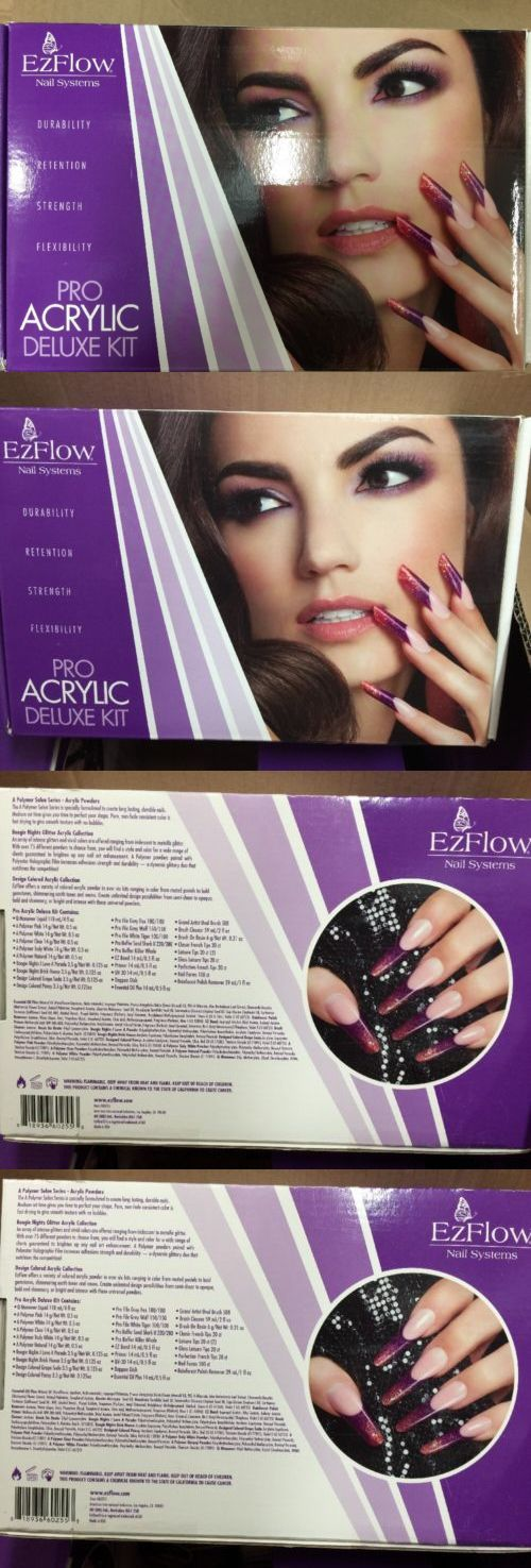 Other Nail Care: Ezflow Deluxe Professional Acrylic Kit - Ezflow Pro Acrylic Deluxe Kit# 60255 -> BUY IT NOW ONLY: $129 on eBay!
