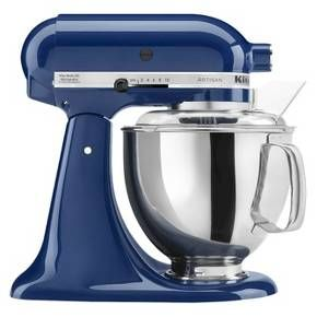 My mixer is a little bit older than this, but I love it. It's name is big blue, original, I know :)