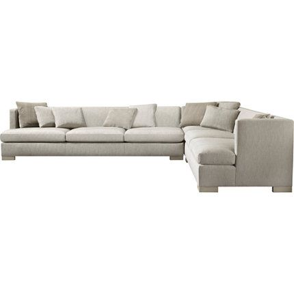 Social Scene Sectional Baker Furniture Barbara Barry Collection