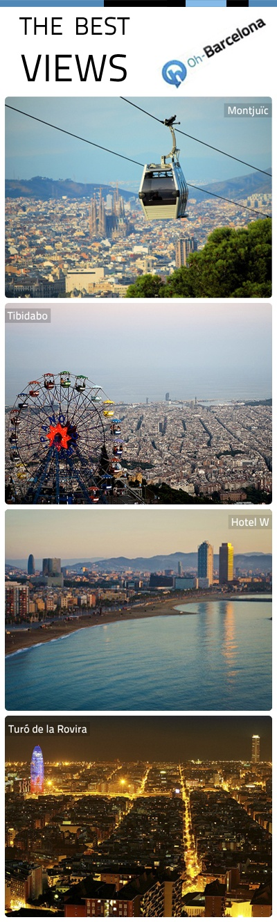 Some of the best views of Barcelona!