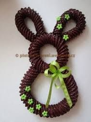 Výsledek obrázku pro pletení z papíru velikonoce