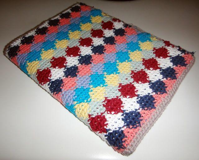 Proyecto 7: funda de libreta en tapestry crochet