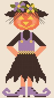 42 best corbeau images on pinterest cross stitch patterns counted by the bay needleart second annual free halloween doll chart fandeluxe Gallery