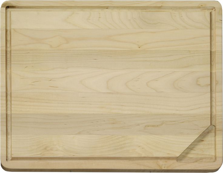 Hardwood Carving Board with Gravy Groove