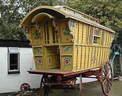 Gypsy caravan: Gypsy Caravans, Gypsy Waggons and Vardos; Photo Gallery 4