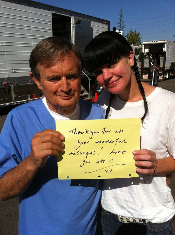 David Mccallum And Pauley P From Her Twitter Account