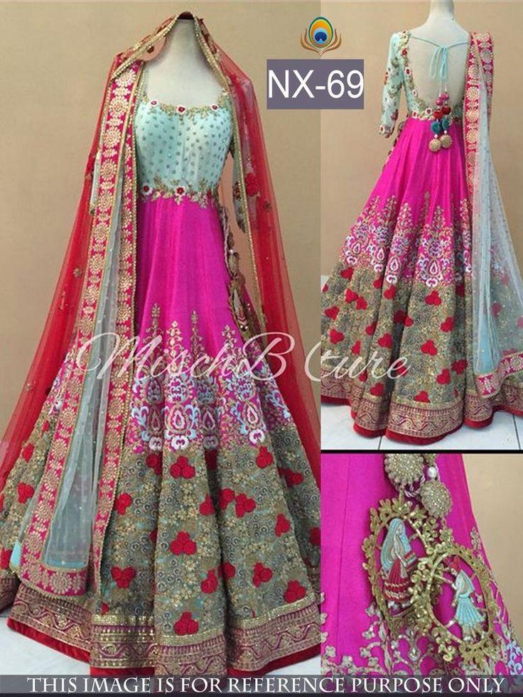 Indian Bollywood Lehenga Choli Sari Designer Diwali Sale Dress Women NX-69 #StyleFashionHub #LehengaCholi #Partyweddingfestivalbridalreception