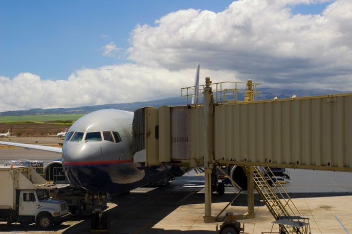 Maui has three airports, but only one, Kahului Airport, has facilities to accommodate direct flights from the U.S. mainland.