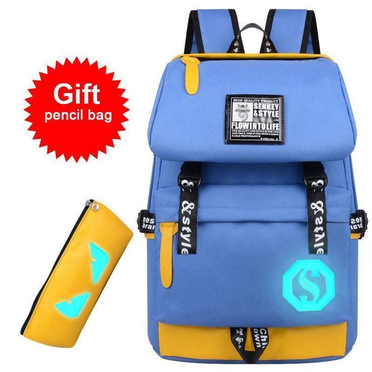 Fashion USB Interface Charge Backpack LeisureTravel Waterproof Laptop Unisex Bag