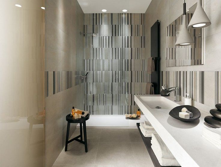 Peinture Gris Metal Pour Chambre : 1000 idées sur le thème Salles De Bains Blanc Gris sur Pinterest …