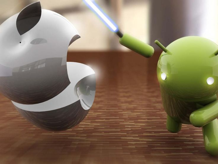 Android Versus Apple in Innovative Review