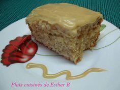 Les plats cuisinés de Esther B: Gâteau au gruau et au sucre à la crème