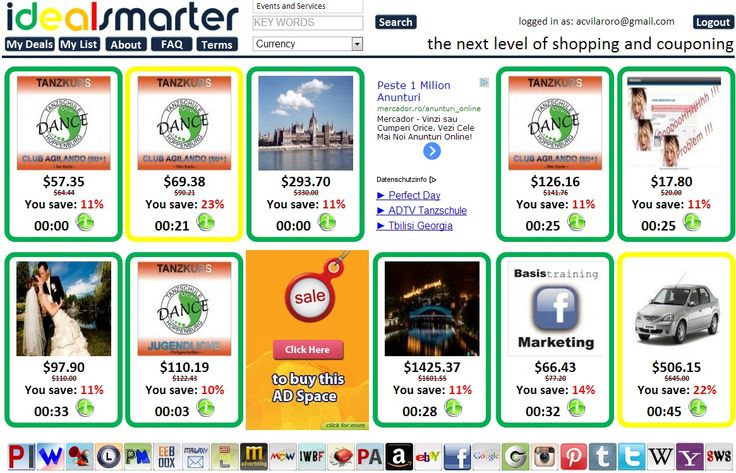 Did you know you can even find local deals at http://www.idealsmarter.com #IDS