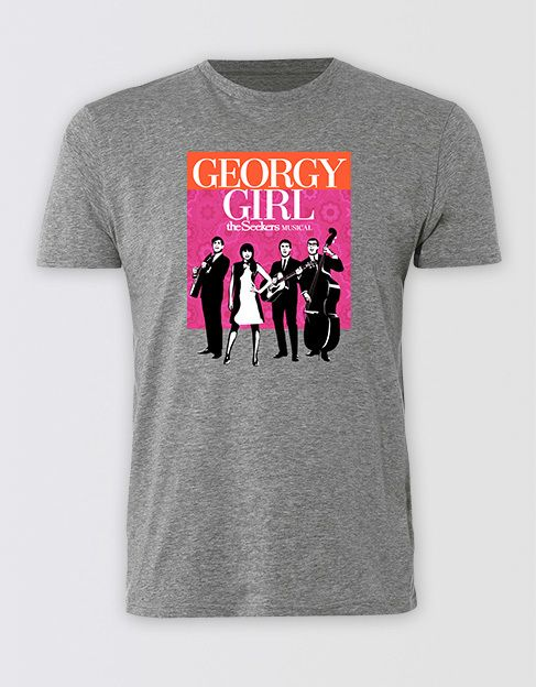 Georgy Girl Unisex Logo Tee - Playbill Pty Ltd