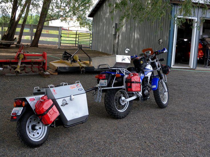 Adventure Motorcycle Trailers