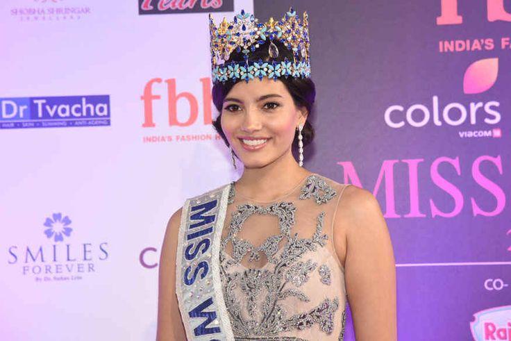 bollywoodmirchitadka: Stephanie Del Valle Miss World Attends The Femina ...