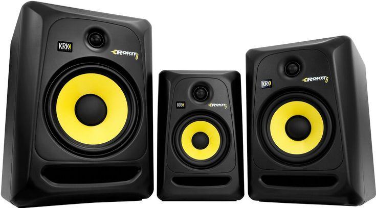 Nuevos altavoces home estudio krk rp3 http://djmania.es/noticia/Monitores_KRK_G3