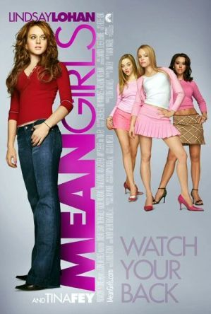 Mean Girls is a 2004 American teen comedy film directed by Mark Waters. The screenplay was written by Tina Fey and is based in part on the non-fiction book Queen Bees and Wannabes by Rosalind Wiseman, which describes how female high school social cliques operate and the effect they can have on girls.