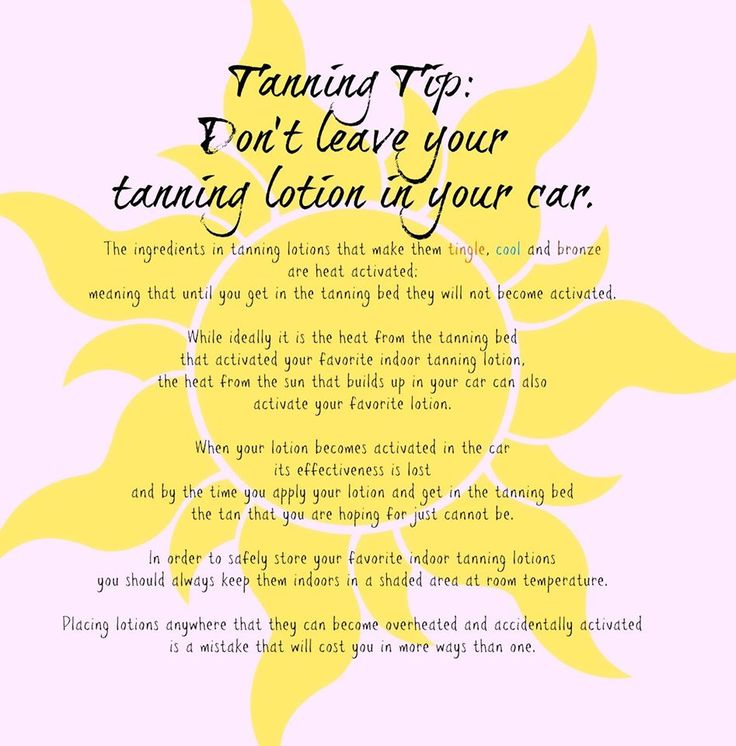 Hollywood tans tanning tip dont leave your tanning